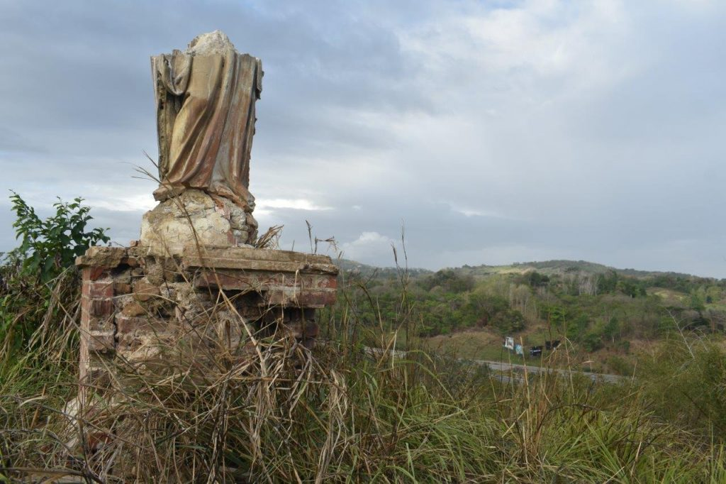Statue on the hill